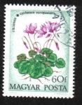 Sellos del Mundo : Europa : Hungría : Flor