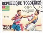 Stamps Togo -  OLIMPIADA DE LOS ANGELES'84