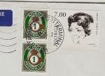 Stamps Norway -  Lillebil Ibsen - actriz de teatro