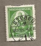 Stamps Hungary -  Patrona de Hungría
