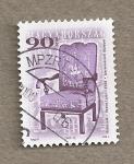 Sellos de Europa - Hungría -  Silla por Lajos Kozma