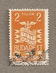 Stamps Hungary -  Feria Internacional de Budapest
