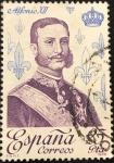 Stamps : Europe : Spain :  Alfonso XII España Correos