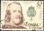 Stamps : Europe : Spain :  Felipe IV España correos