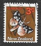 Sellos de Oceania - Nueva Zelanda -  442 - Polilla