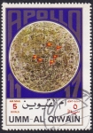Stamps United Arab Emirates -  Apollo 11-17