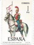 Stamps : Europe : Spain :  Uniformes Militares España