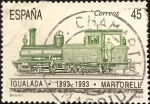 Stamps : Europe : Spain :  Igualada 1893 - 1993 . Martorell