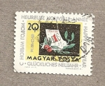 Stamps Hungary -  Feliz Año Nuevo