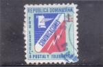 Sellos de America - Rep Dominicana -  PRO-ESCUELA POSTAL Y TELEGRAFOS