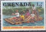 Sellos del Mundo : America : Granada : SEXTO JAMBOREE CARIBE-JAMAICA