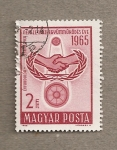 Stamps Hungary -  6ª Conferencia de Ministros de correos de paises socialistas