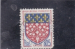 Stamps France -  ESCUDO DE AMIENS