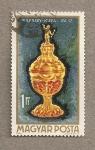 Stamps Hungary -  Copa de oro Nadasdy siglo XVI