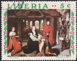 Sellos de Africa - Liberia -  adoración de los Magos I