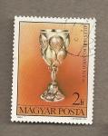 Stamps Hungary -  Cáliz de Varsovia siglo XIX