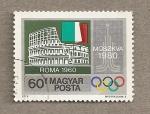 Stamps Hungary -  Juegos Olímpicos, Moscú