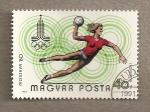 Stamps Hungary -  Juegos Olímpicos, Moscú, Balonmano