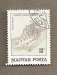 Sellos de Europa - Hungría -  Iglesia medieval cerca de Veszto