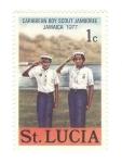 Sellos del Mundo : America : Santa_Lucía : Congreso Boy Scout del Caribe