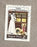 Stamps Hungary -  Centralita telefónica