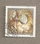 Sellos de Europa - Hungría -  10 Congreso de Espeleología, cueva de Anna