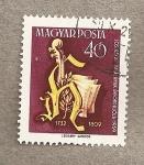 Sellos de Europa - Hungría -  Monograma de Haydn