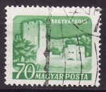 Stamps Hungary -  Castillos
