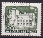 Stamps Hungary -  Castillos