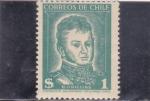 Sellos de America - Chile -  O'HIGGINS