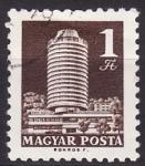 Stamps Hungary -  Edificio