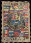 Stamps : America : Venezuela :  Venezuela en America