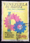 Stamps : America : Venezuela :  Venezuela en marcha