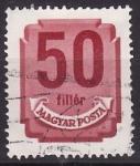 Stamps Hungary -  Números