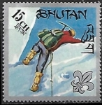 Sellos del Mundo : Asia : Bhután : Movimiento Scout