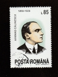 Stamps Romania -  Armand Calinescu