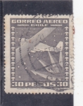 Stamps Chile -  AVION