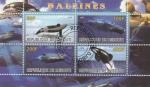 Sellos del Mundo : Africa : Djibouti : Ballenas