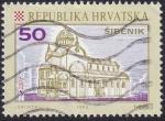 sello : Europa : Croacia : Sibenik