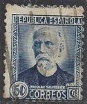 Stamps Spain -  0688 - Nicolás Salmerón