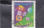 Stamps Chile -  NAVIDAD'97