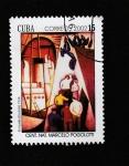 Stamps Cuba -  C3ntenario de Marcelo Pologotti