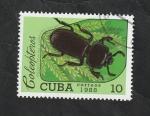 Sellos de America - Cuba -  2861 - Coleóptero