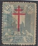 Stamps Spain -  0959_Cruz de Lorena Pro tuberculosos