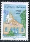Stamps America - Costa Rica -  Hospital Nacional Psiquiátrico