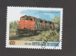 Stamps Guinea -  Tren Ontario, Canadá