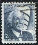 Sellos de America - Estados Unidos -  Frank Lloyd Wright