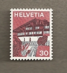 Stamps Switzerland -  Casa bodega