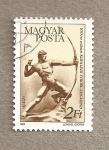 Sellos de Europa - Hungría -  Arquero por Kisfaludy Strobl