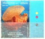 Stamps Malaysia -  MEDUSA  BLANCA  MOTEADA